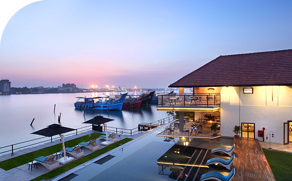 Xandari Harbour property view, Fort Kochi