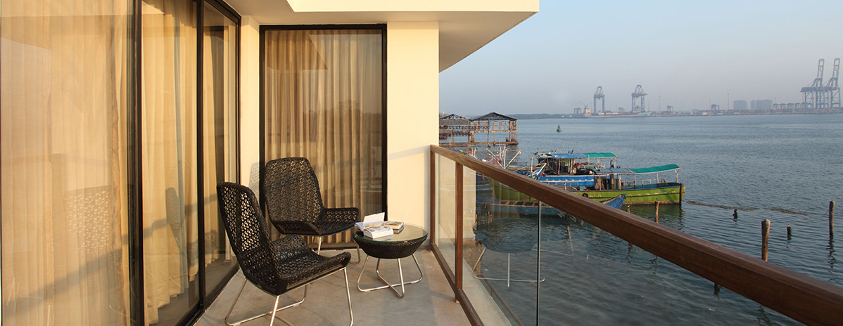 Best harbor accommodation in Kochi