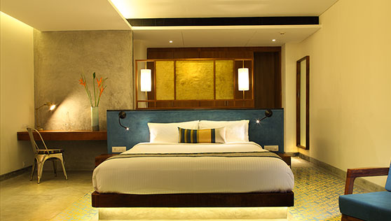 Excellent rooms at Fortkochi Xandari Harbour boutique hotel