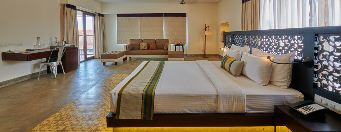 Best harbor accommodation in Kochi, Kerala