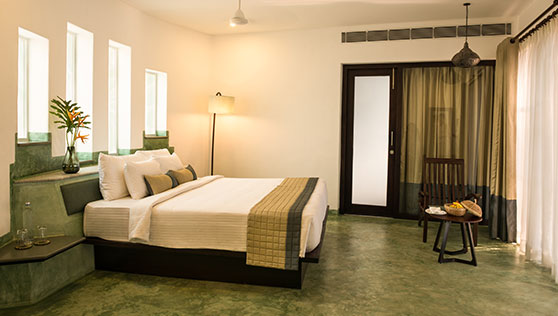 Green Pearl bedroom with all amenities