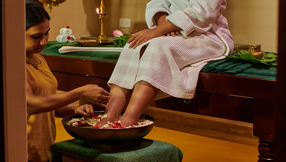 Spa and beauty at Xandari resort Marari beach honeymoon package